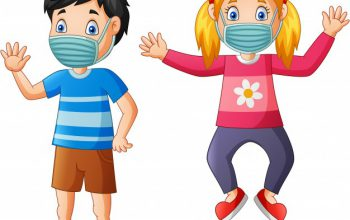 happy-children-cartoon-wear-protective-mask-from-virus-illustration_162786-55